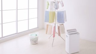 梅雨の洗濯物は臭いが・・・ 部屋干しに乾燥機や除湿機が有効