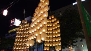 秋田竿灯まつりの日程と場所へのアクセス そして楽しみ方をご紹介