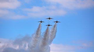 入間基地航空祭の日程とブルーインパルス飛行時間!穴場は?
