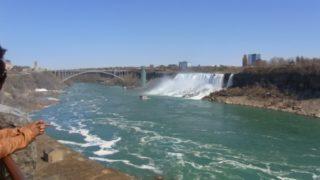 ナイアガラの滝は冬になると凍る?凍結した所を見てきた!画像もありますよ